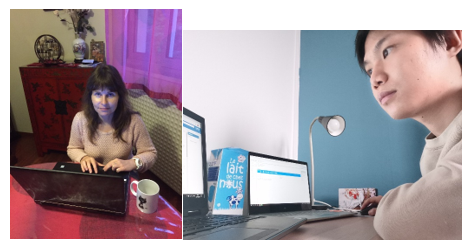 Carine Julcour and Xuan - INPTLGC team